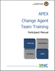 APEX Change Team Training: Facilitators Manual [and] Participant Manual [Lesson Plans and Participant Manual] Cover