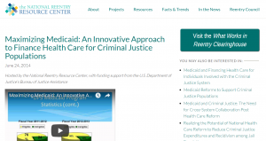 Maximizing Medicaid: An Innovative Approach to Finance Health Care for Criminal Justice Populations [Webinar] Cover