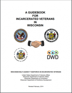 A Guidebook for Incarcerated Veterans in Wisconsin Cover