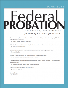 Policy Implications of Police-Probation/Parole Partnerships: A Review of the Empirical Literature Cover