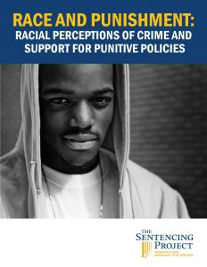 Race and Punishment: Racial Perceptions of Crime and Support for Punitive Policies Cover