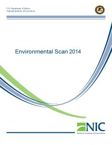 Environmental Scan 2014 Cover