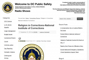 Religion in Corrections – National Institute of Corrections cover