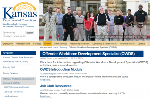 Offender Workforce Development Specialist (OWDS) cover