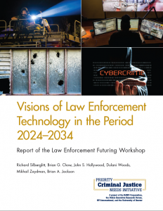 Visions of Law Enforcement Technology in the Period 2024-2034: Report of the Law Enforcement Futuring Workshop cover