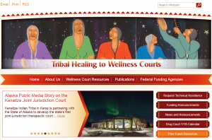 Tribal Healing to Wellness Courts cover