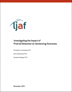 Investigating the Impact of Pretrial Detention on Sentencing Outcomes cover