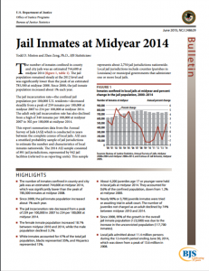 Jail Inmates At Midyear 2014 cover