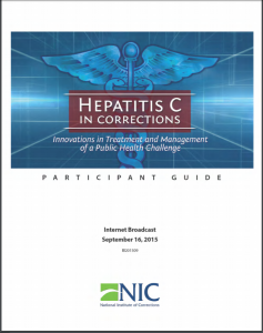Hepatitis C in Corrections cover