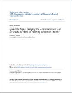 Silence to Signs: Bridging the Communication Gap for Deaf and Hard-of-Hearing Inmates in Prisons cover