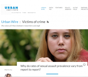 Why do rates of sexual assault prevalence vary from report to report? cover
