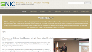 Evidence-Based Decision Making in Local Criminal Justice Systems Cover