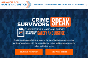 Crime Survivors Speak Cover
