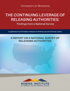 The Continuing Leverage of Releasing Authorities cover