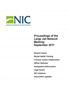 Proceedings of the L.J.N. Meetings Cover