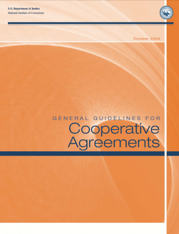 Cooperative Agreements Cover