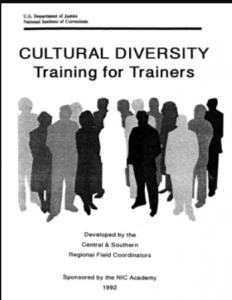 Cultural Diversity: Training for Trainers Cover