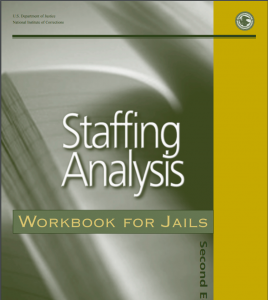 Staffing Analysis Workbook for Jails Cover