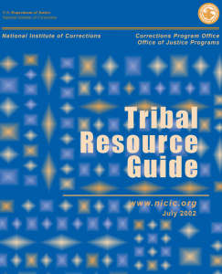 Tribal Resource Guide Cover
