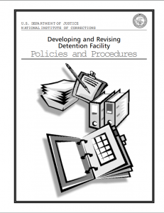 Developing and Revising Detention Facility Policies and Procedures cover