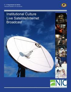 Institutional Culture Cover