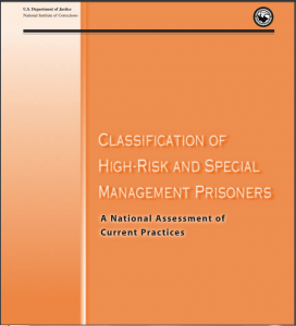 Classification of High-Risk and Special Management Prisoners: A National Assessment of Current Practices Cover