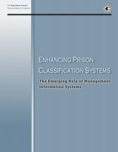 Enhancing Prison Classification Systems: The Emerging Role of Management Information Systems Cover