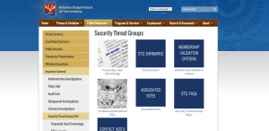 Security Threat Group Unit Cover