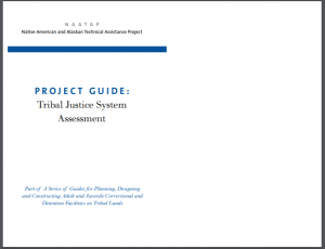 Project Guide: Tribal Justice System Assessment Cover