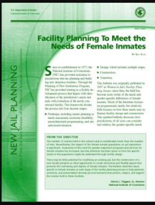 Facility Planning to Meet the Needs of Female Inmates Cover