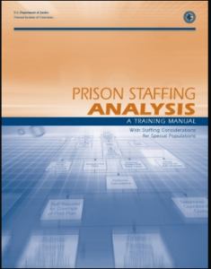 Prison Staffing Analysis:  A Training Manual with Staffing Considerations for Special Populations Cover