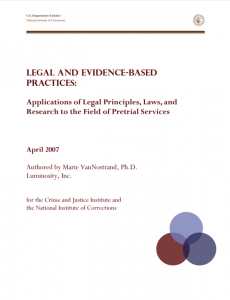 Legal and Evidence Based Practice cover