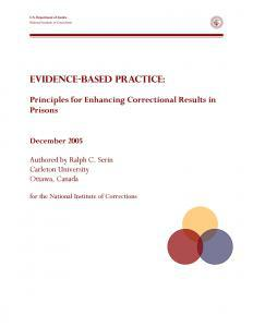 Evidence-Based Practice Cover