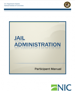 Jail Administration Cover