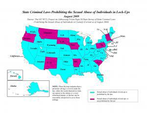 State Criminal Laws Prohibiting Sexual Abuse of Individuals in Lock-Ups Cover
