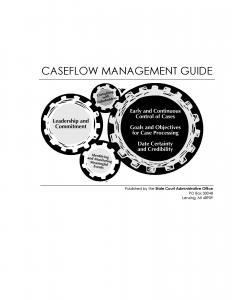Caseflow Management Guide Cover