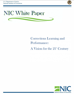 Corrections Learning and Performance Cover