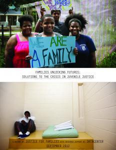 Families Unlocking Futures: Solutions to the Crisis in Juvenile Justice Cover