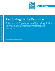 Realigning Justice Resources: A Review of Population and Spending Shifts in Prison and Community Corrections cover