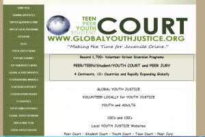 Local Youth Justice Websites: Peer Court, Student Court, Youth Court, Teen Court Cover