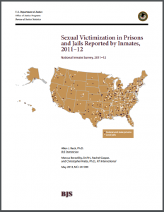 Sexual Victimization in Prisons and Jails Reported by Inmates, 2011–12 Cover