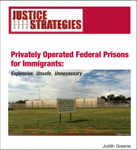 › Privately Operated Federal Prisons for Immigrants: Expensive. Unsafe. Unneccessary Cover