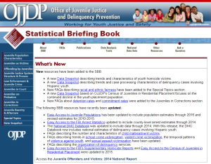 Statistical Briefing Book Cover