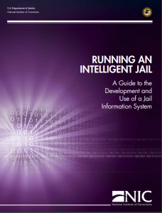 Running an Intelligent Jail: A Guide to the Development and Use of a Jail Information System cover