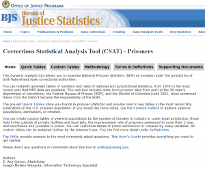 Corrections Statistical Analysis Tool Cover