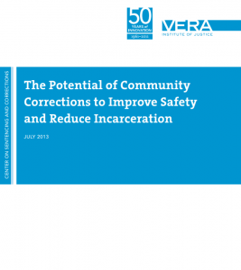 The Potential of Community Corrections Cover