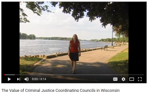 The Value of Criminal Justice Coordinating Councils in Wisconsin Cover