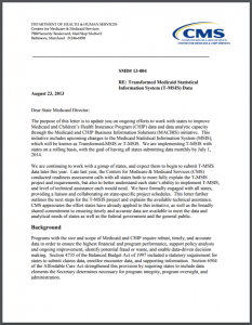 Tri-Agency Letter on Trauma-Informed Treatment Cover