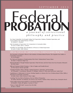 Changing Probation Officer Attitudes: Training Experience, Motivation, and Knowledge Cover