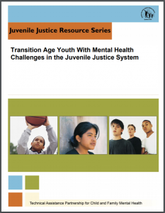 Transition Age Youth With Mental Health Challenges in the Juvenile Justice System Cover
